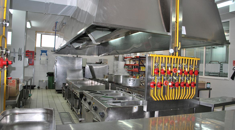 Obras for Estructura de una cocina industrial